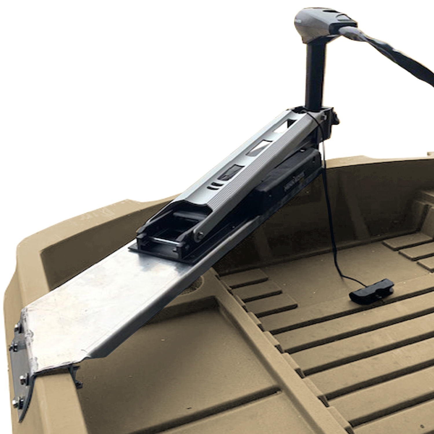 Foot Controlled Trolling Motor Mount A